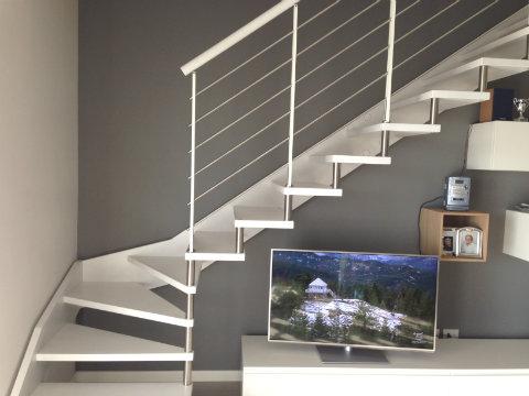Tinteggiature bergamo milano monza la pittoressa for Moderni piani casa stretta