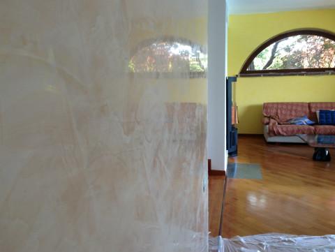 Foto di tinteggiature e decorazioni a bergamo milano for Stucco veneziano milano